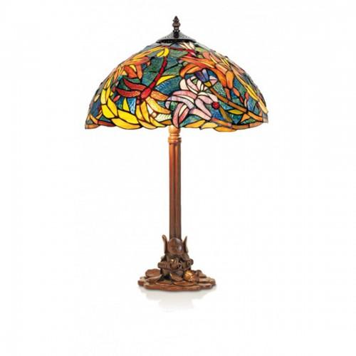 Stolní lampa Tiffany, KT2753+P1257