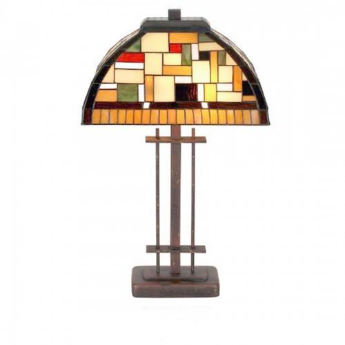 Stolní lampa Tiffany, TT109+PBLM12