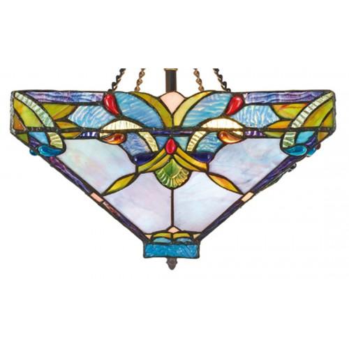 Stropní svítidlo Tiffany 141352+BLAF