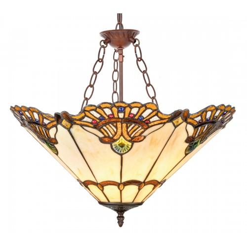 Stropní svítidlo Tiffany 201082+C3