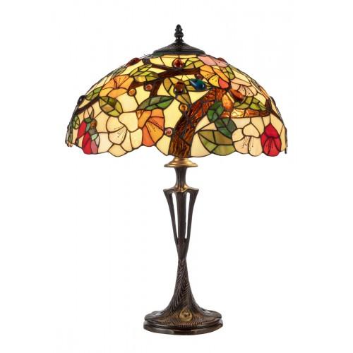 Stolní lampa Tiffany 16639+PBLM11