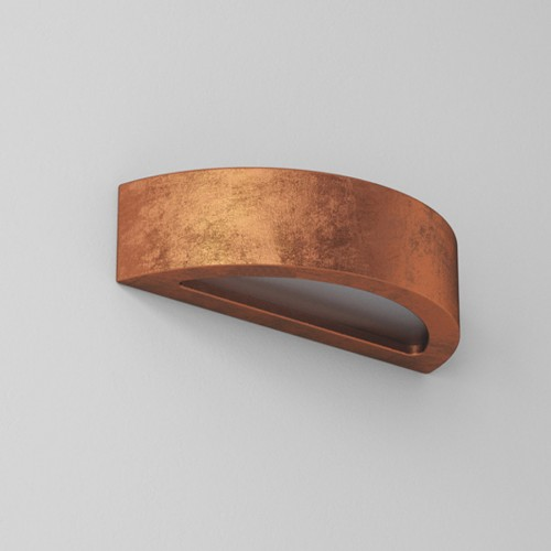 Nástěnné svítidlo keramické 1160/945 - měděná, Omega A