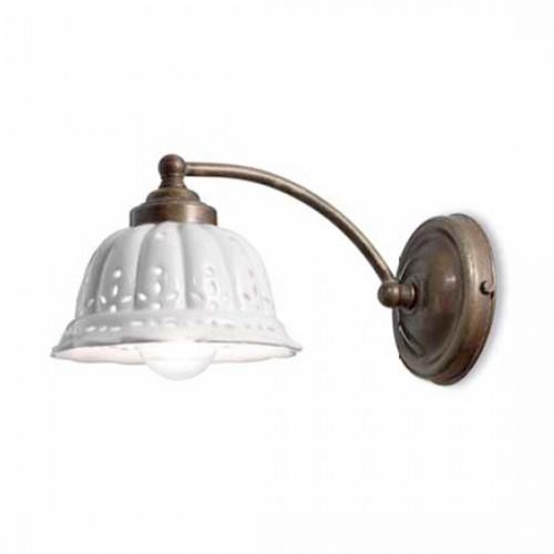 Nástěnné rustikální svítidlo 061.17.OC ze série Anita