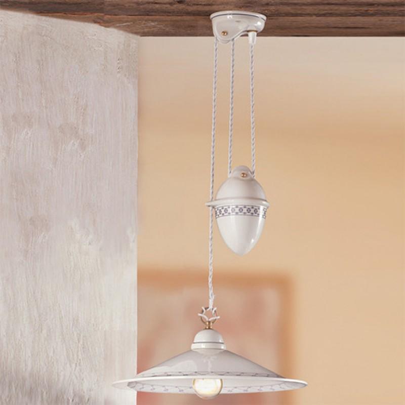 Závěsná stahovací svítidla 2015.1 rustikální - dekory