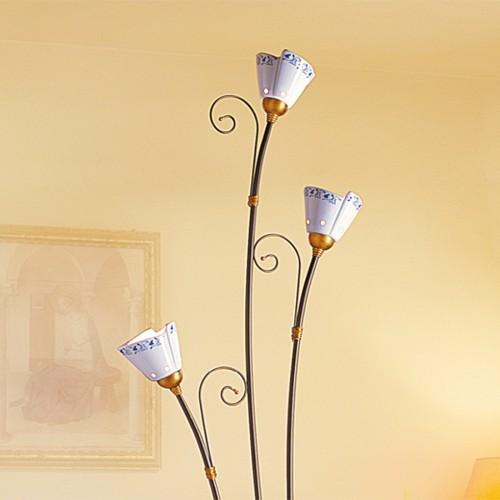 Stojací lampa rustikální 2029.P ze série 2029