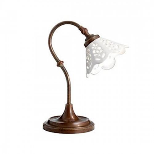 Stolní lampa rustikální 065.52.OC ze série Fiori di Pizzo