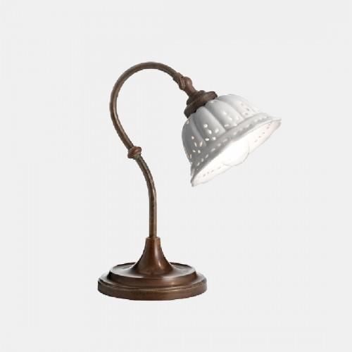Stolní lampa rustikální 061.52.OC ze série Anita