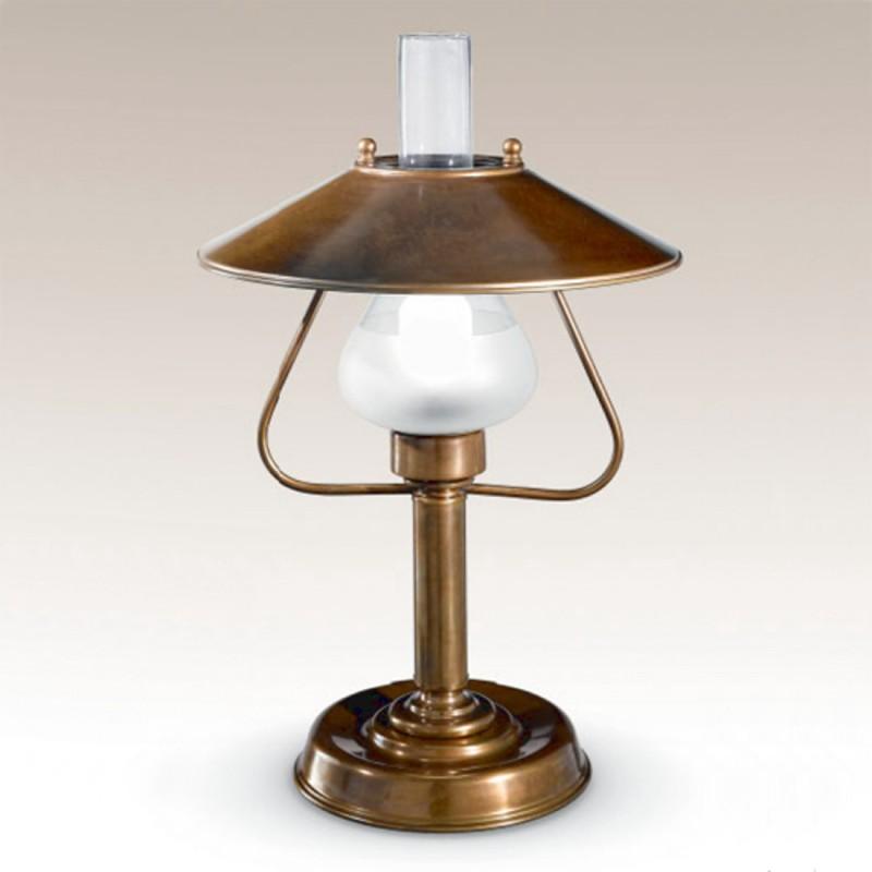 Stolní lampa rustikální 419/1LA-BR-CON ze série Barchessa