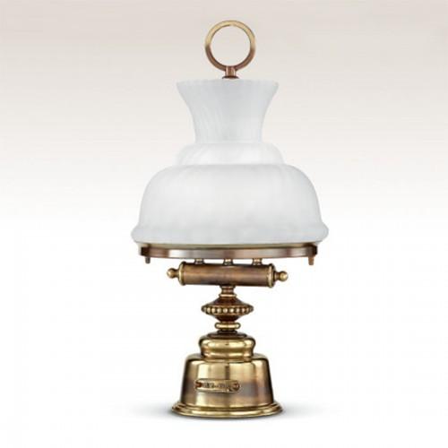 Stolní lampa rustikální 481/2LA-BRSF ze série Grecale