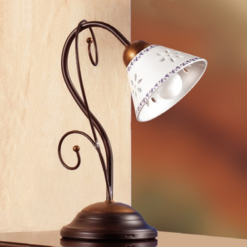 Stolní lampa rustikální 2028.L ze série 2028