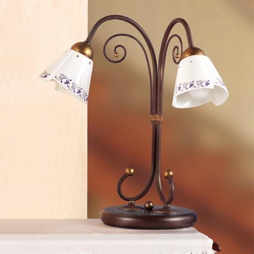 Stolní lampa rustikální 2029.L2 ze série 2029