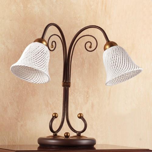 Stolní lampa rustikální 2032.L2 ze série 2032