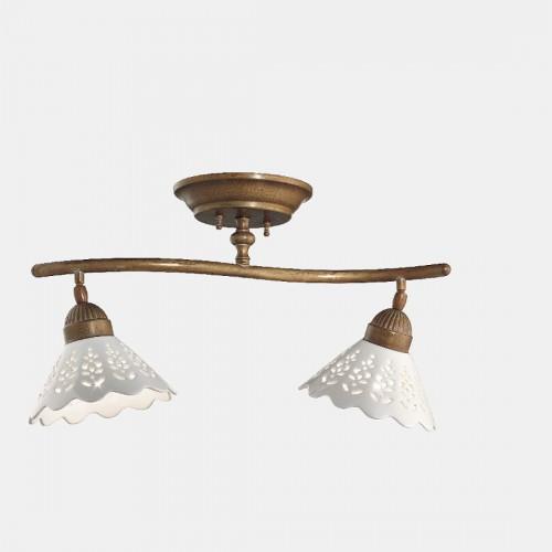 Stropní rustikální svítidlo 065.22.OC ze série Fioro di Pizzo