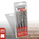 Sada vrtáků SDS+ KRT012601, 4 kusy