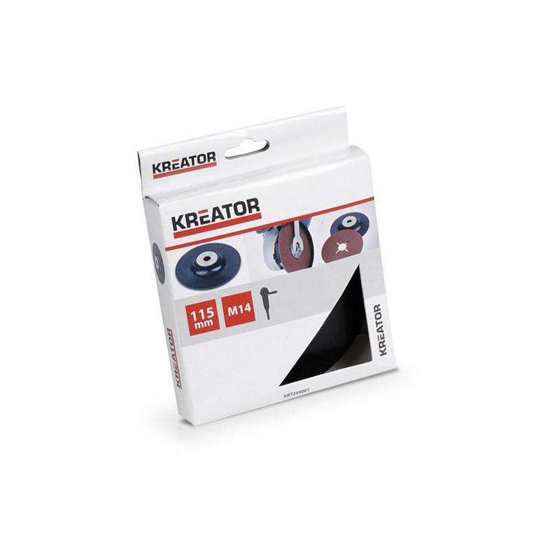 Podkladová deska pro úhlové brusky, Kreator KRT259001, pr. 115mm