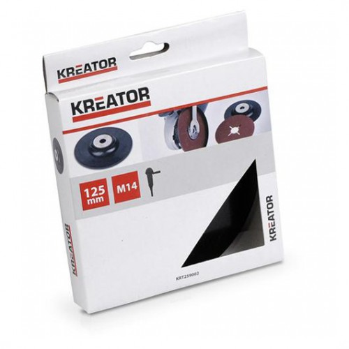 Podkladová deska pro úhlové brusky, Kreator KRT259002, pr. 125mm