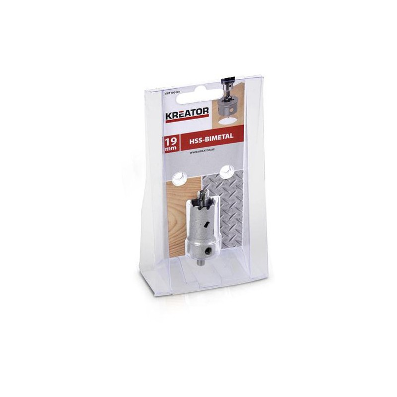 Pilová děrovka na kov a dřevo KRT100101, Ø 19mm
