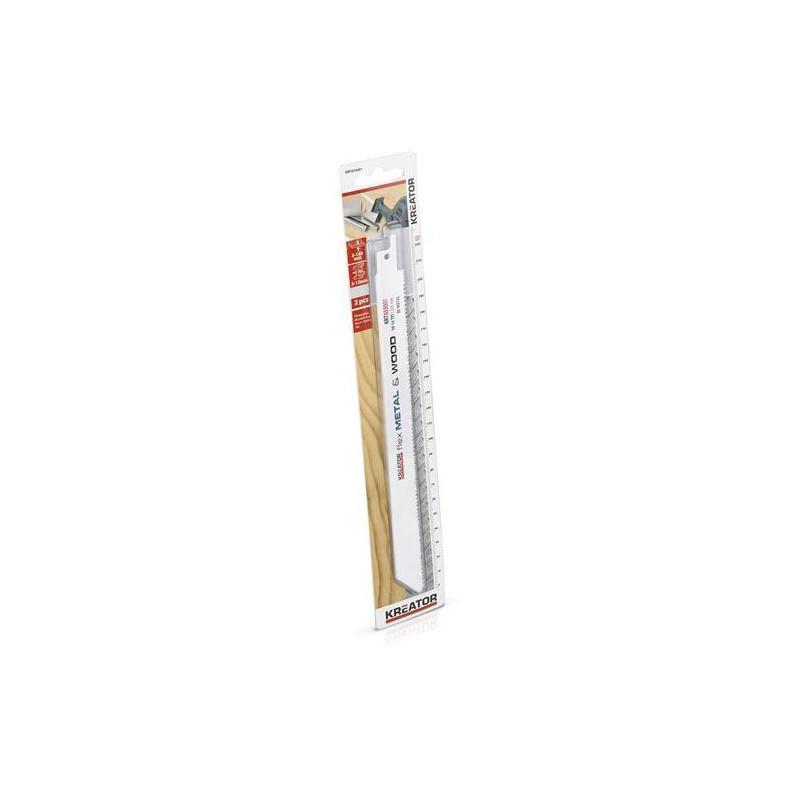 Pilové plátky na kov a dřevo, Kreator KRT033001, 2 kusy
