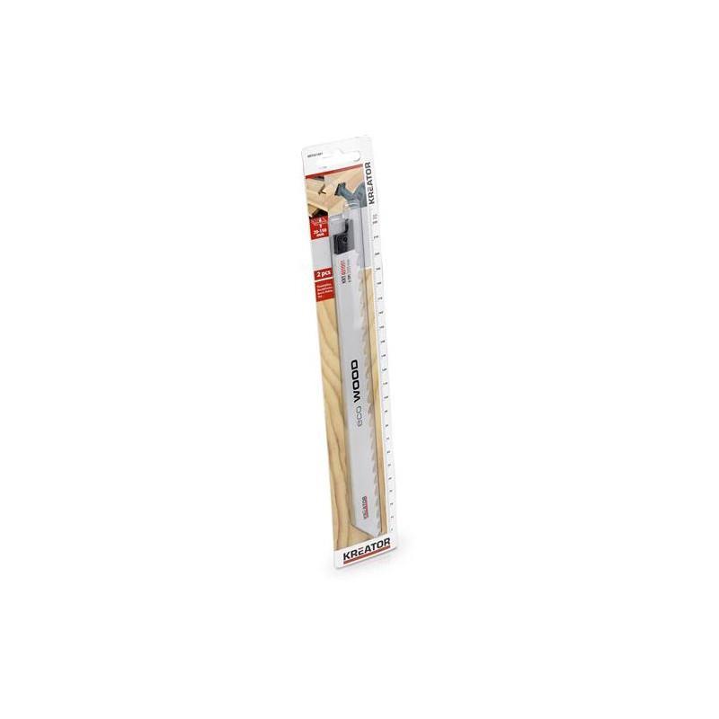 Pilové plátky na měkké dřevo, Kreator KRT031001, 2 kusy