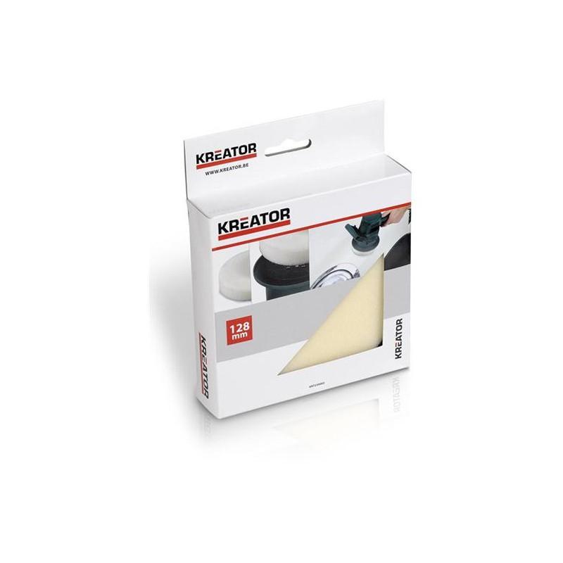 Leštící molitanový kotouč Kreator KRT239002, 128mm