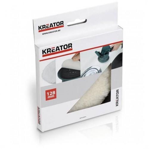 Kotouč leštící vlněný KRT239003 Kreator, 128mm
