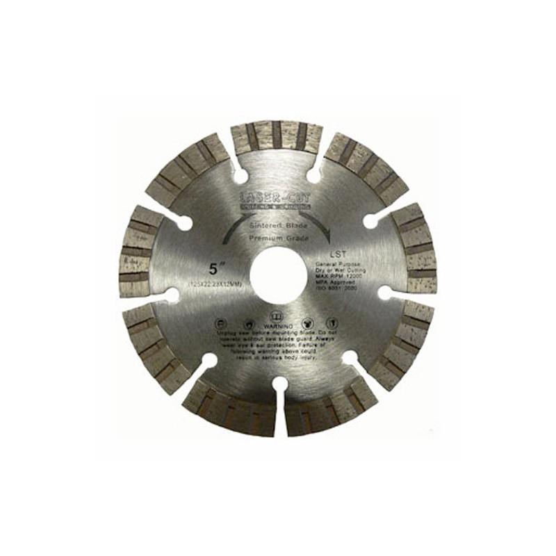 Diamantové řezací kotouče turbo segmentové LST, Laser Cut