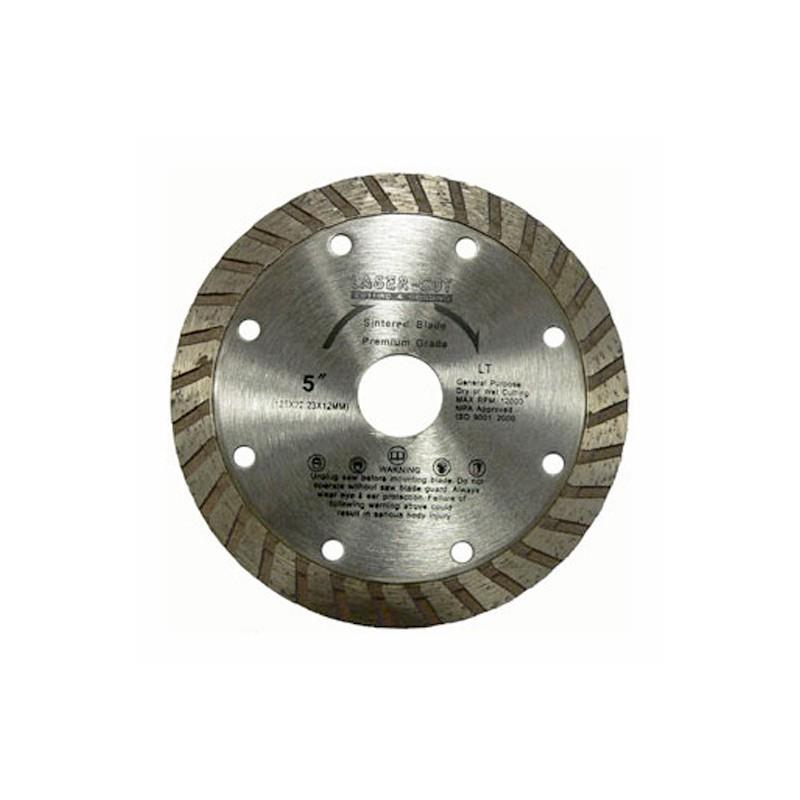 Diamantové řezací kotouče turbo celoobvodové LT, Laser Cut