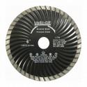 Kotouče řezné diamantové LTW turbo celoobvodové vlnité, Laser Cut