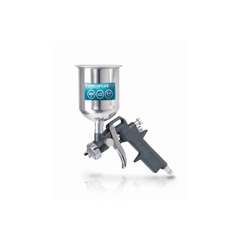 Pistole vzduchová stříkací POWAIR0105 Powerplus s horní nádobou