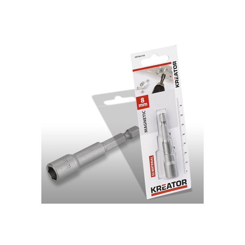 Klíč nástrčný magnetický KRT062100 Kreator, 8mm