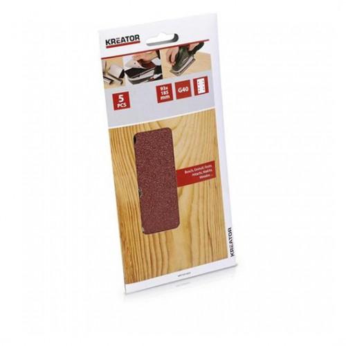 Sady brusných papírů KRT201003