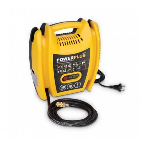 Kompresor elektrický POWX1705 bezolejový