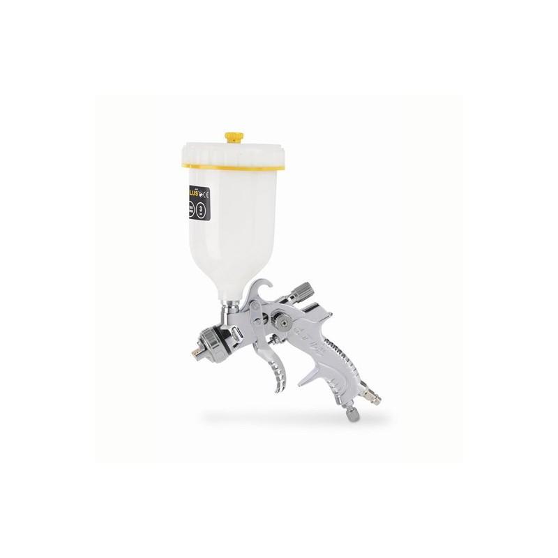 Stříkací vzduchová pistole s horní nádobou POWAIR0109, 600cc