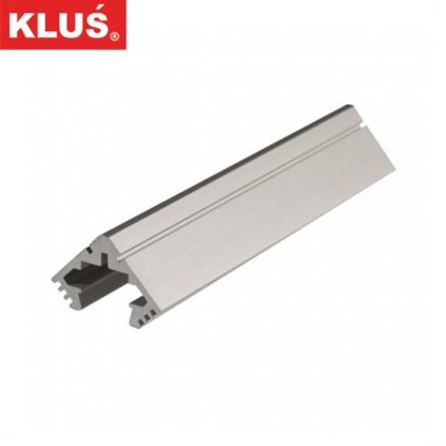 Hliníkový rohový profil pro LED pásky KlusDesign 45-ALU, B4023