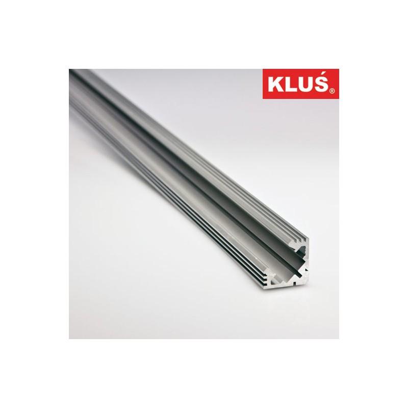 Profil hliníkový B4023ANODA KlusDesign 45-ALU, anodizovaný