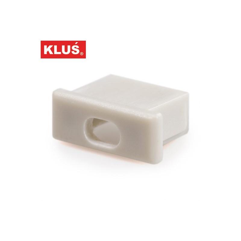 Záslepka s otvorem pro profil MICRO-ALU KlusDesign, 1060