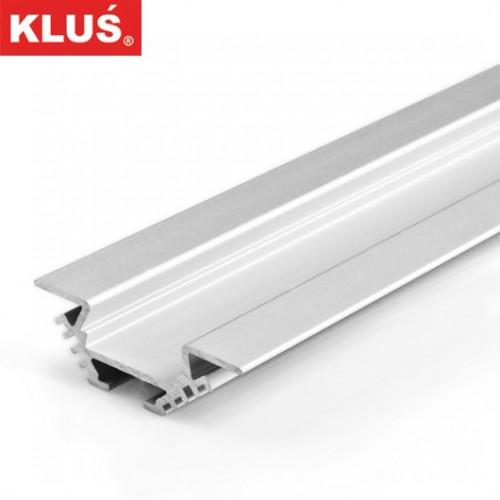 Hliníkový rohový profil pro LED pásky KlusDesign PAC-ALU, B4370