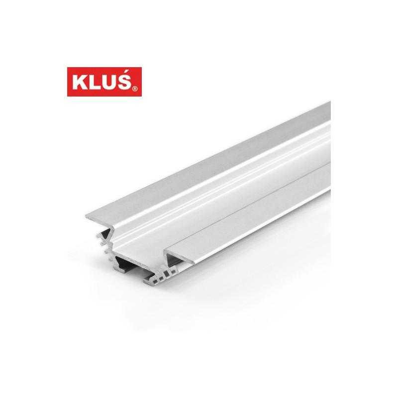 Profil hliníkový B4370 KlusDesign PAC-ALU, anodizovaný