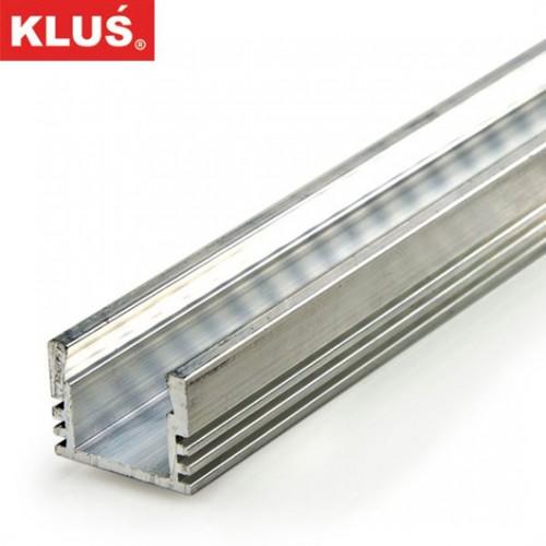 Profil hliníkový B1718 KlusDesign PDS4-ALU, surový hliník