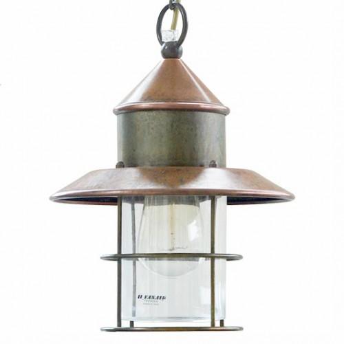 Závěsné svítidlo exteriérové 246.07.ORT rustikální - čiré sklo