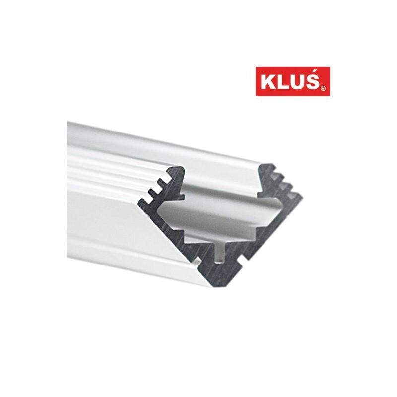 Profil hliníkový B4023 KlusDesign 45-ALU, surový hliník