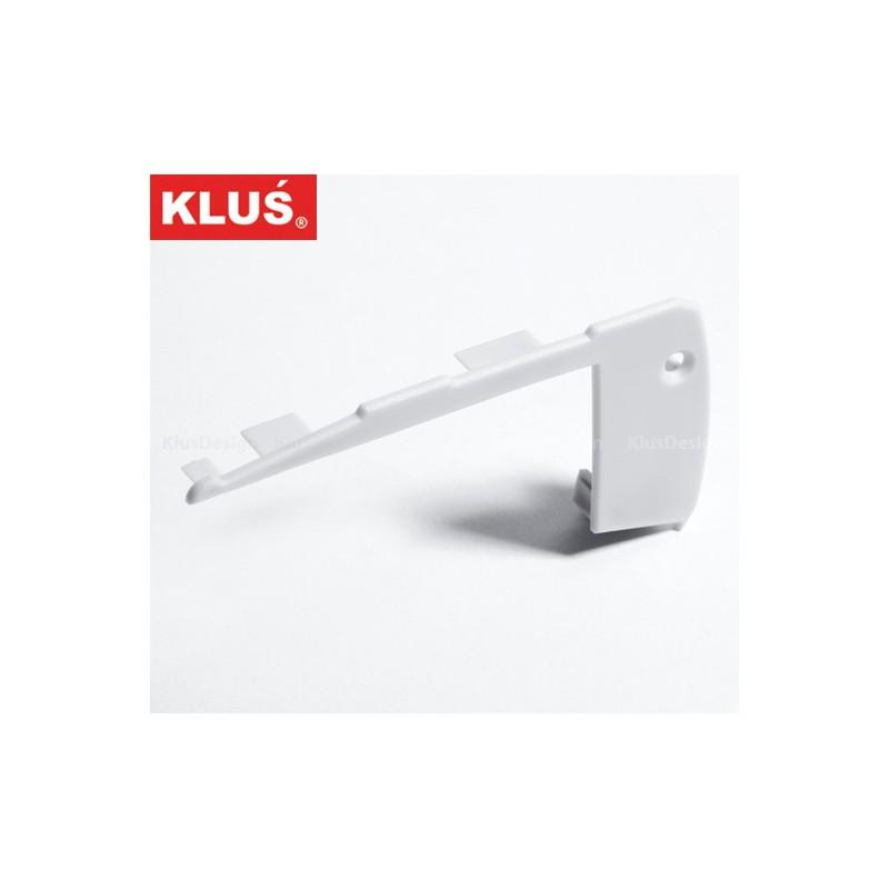 Záslepka pro profil STEP KPL-ALU KlusDesign, 00304 - levá