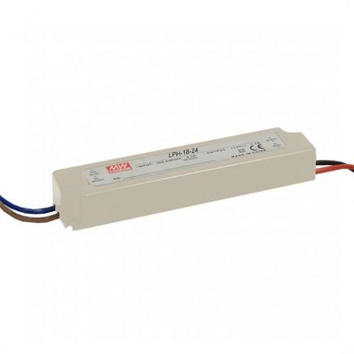 Napaječ MeanWell pro LED, LPH-18-24, 18W/24V DC