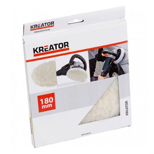 Kotouč leštící vlněný KRT239070 Kreator, 180mm